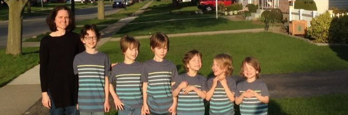 6 Brothers Were Bullied For Years While Growing Their Hair Long To Make Wigs For Kids With Cancer - Εικόνα 2