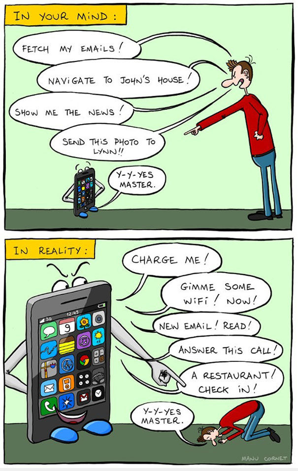 Death Of Conversation: 22+ Images Of How Smartphones Take Over Our Lives - Εικόνα17