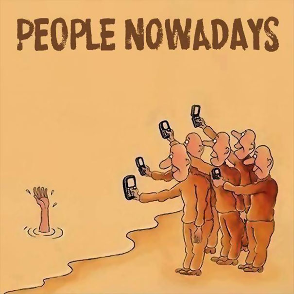 Death Of Conversation: 22+ Images Of How Smartphones Take Over Our Lives - Εικόνα45