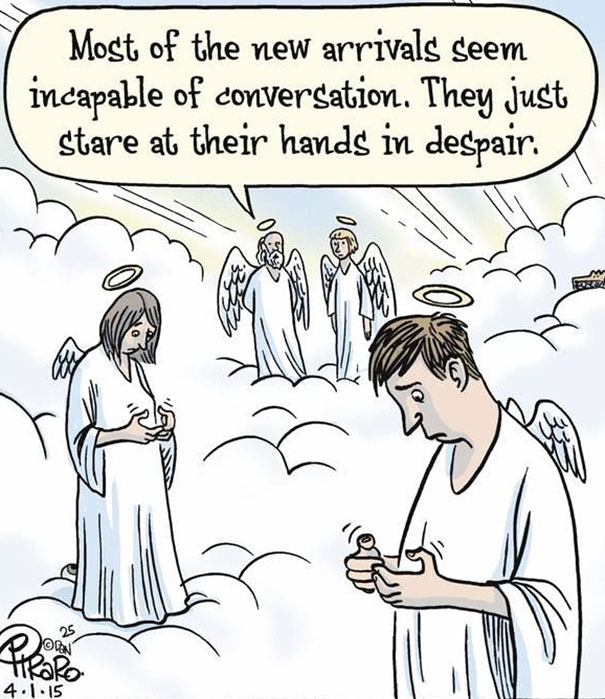 Death Of Conversation: 22+ Images Of How Smartphones Take Over Our Lives - Εικόνα49