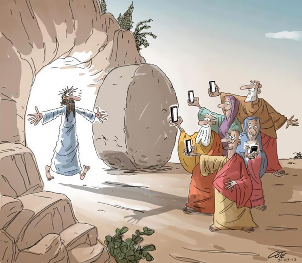 Death Of Conversation: 22+ Images Of How Smartphones Take Over Our Lives - Εικόνα70