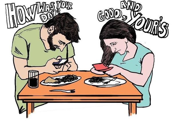 Death Of Conversation: 22+ Images Of How Smartphones Take Over Our Lives - Εικόνα99