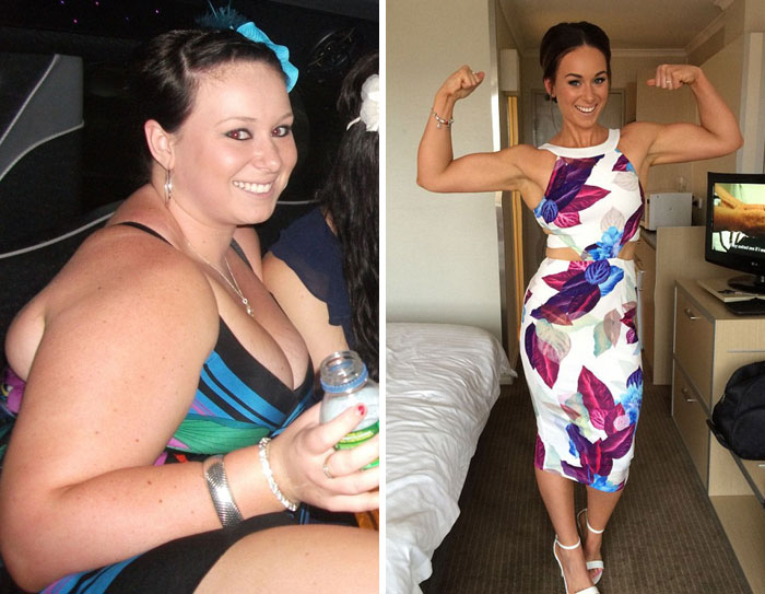 10+ Incredible Before-And-After Weight Loss Pics You Won't Believe Show The Same Person - Εικόνα 1