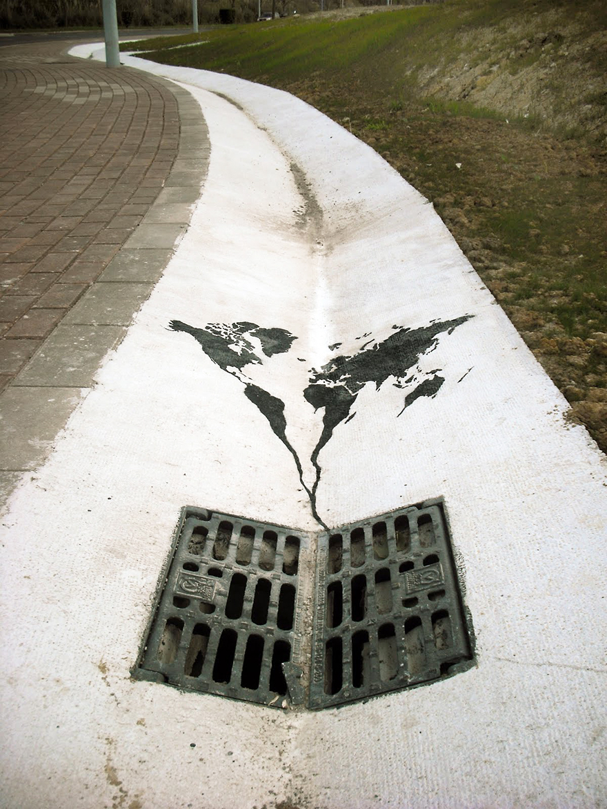 20+ Powerful Street Art Pieces That Tell The Uncomfortable Truth - Εικόνα13