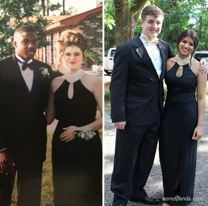 10+ Teens Who Wore Their Moms' Vintage Prom Dresses Decades Later, And Absolutely Killed It - Εικόνα 13