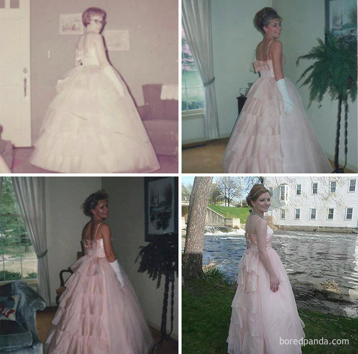 10+ Teens Who Wore Their Moms' Vintage Prom Dresses Decades Later, And Absolutely Killed It - Εικόνα 4