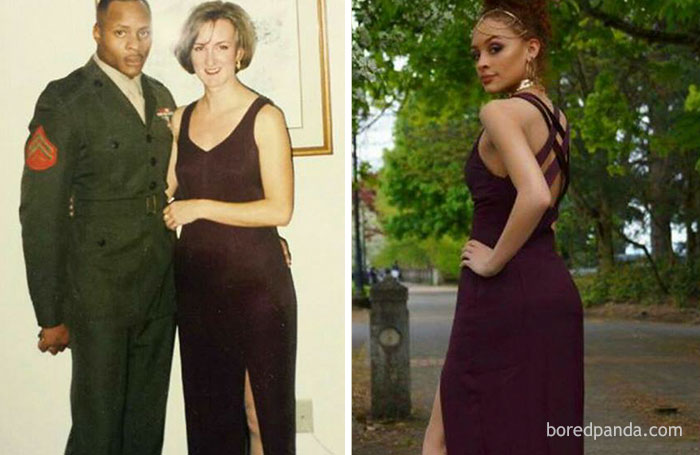 10+ Teens Who Wore Their Moms' Vintage Prom Dresses Decades Later, And Absolutely Killed It - Εικόνα 7