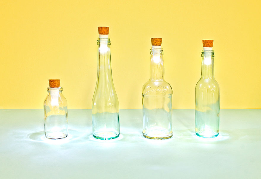 Turn Old Bottles Into Lamps With Rechargeable LED Corks - Εικόνα9