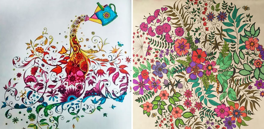Artist Creates Adult Coloring Books And Sells More Than A Million Copies - Εικόνα 10