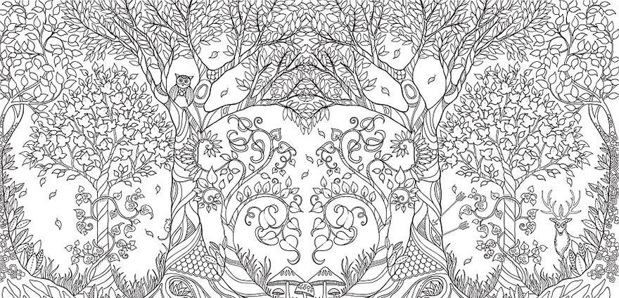 Artist Creates Adult Coloring Books And Sells More Than A Million Copies - Εικόνα 13