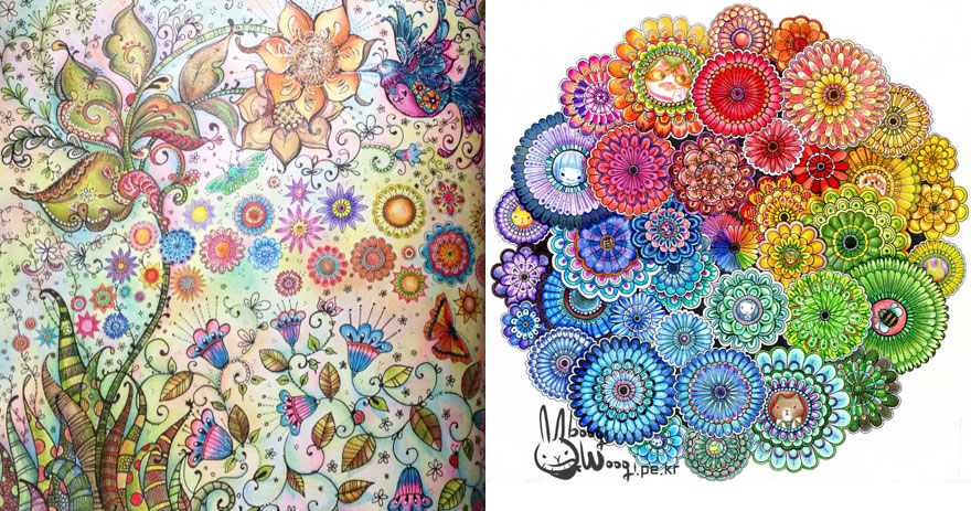 Artist Creates Adult Coloring Books And Sells More Than A Million Copies - Εικόνα 7