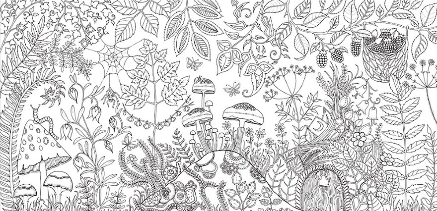 Artist Creates Adult Coloring Books And Sells More Than A Million Copies - Εικόνα 8